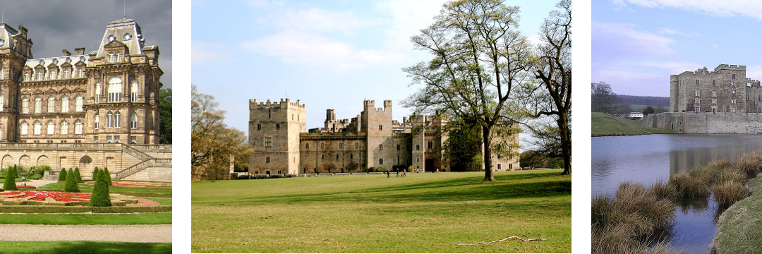 Raby Castle and the Bowes Museum